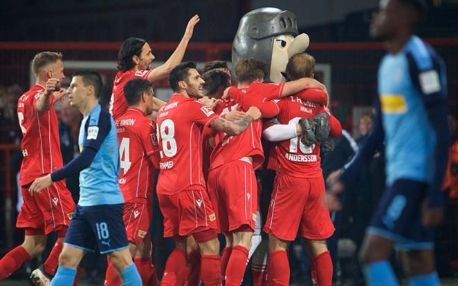 Zsinórban három bajnokit nyert az Union, az éllovas Gladbachot is elcsípte. Fotó: Twitter
