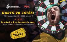 Szurkolj a 9 nyilasnak és nyerj páros belépőt a budapesti dartstornára!