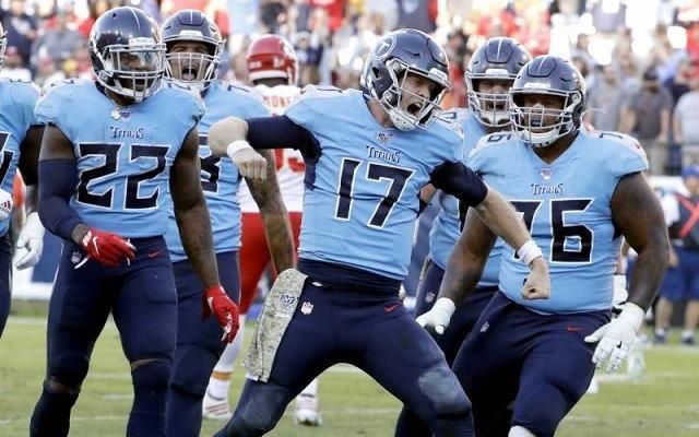 Az utóbbi hetekben a Titans az NFL egyik legforróbb csapata. - Fotó: NFL