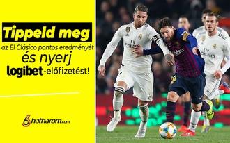 Tippeld meg a Barca-Real meccs eredményét és nyerj!