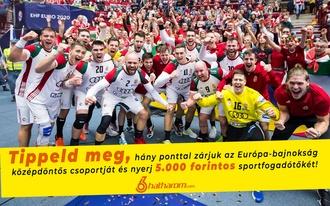 2 vagy 10 pont? Tippelj a magyar válogatottra és nyerj!