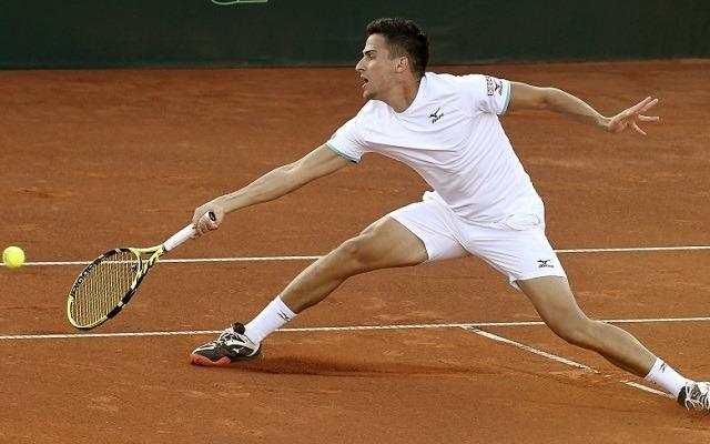 Balázs Attila kapott még egy esélyt Rióban. - Fotó: ATP