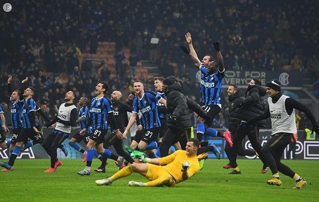 Nagy meccset nyert meg az Inter, jutalma a listavezető pozíció / Fotó: Inter - facebook.com