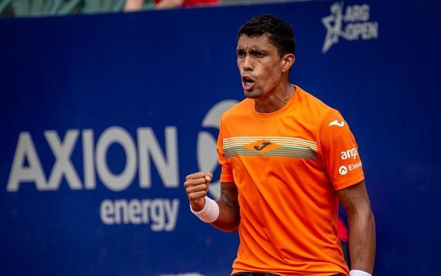 Monteiro topformában üt Buenos Airesben. - Fotó: ATP