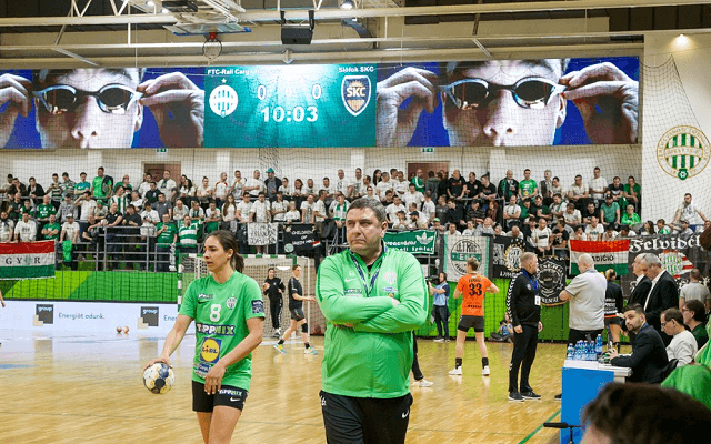 Újabb pofont kaphat a Ferencváros. - Fotó: fradi.hu