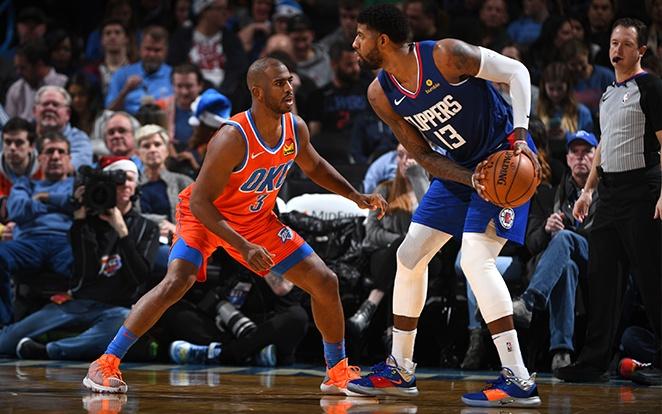 A Clippers a meccseinek csak kicsivel több, mint felét húzza be idegenben. Fotó: NBA.com