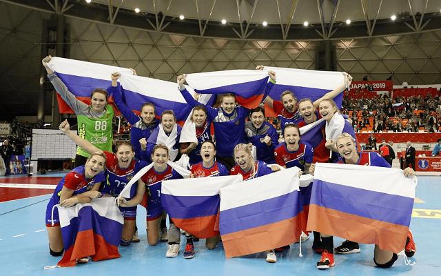 A 2019-es vb-n bronzérmet nyertek az oroszok. - Fotó: japanhandball2019.com