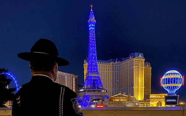 Jelenleg zárva vannak a Las Vegas-i kaszinók. - Fotó: twitter.com