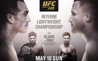 Nem cifrázzuk, dupláznánk az UFC 249-en