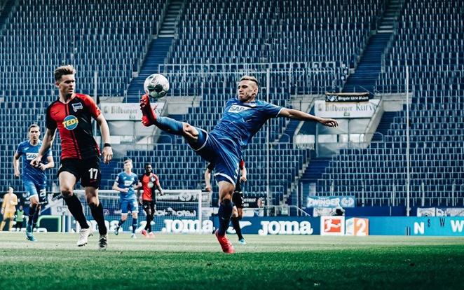 A Hertha ellen semmi nem jött össze. Fotó: Twitter