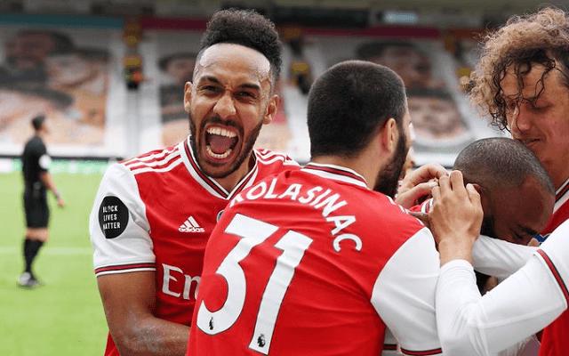 Egyre jobb formában az Arsenal. - Fotó: twitter.com/arsenal