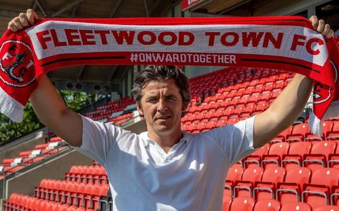 A Fleetwood Town trénere nem kisebb név, mint Joey Barton