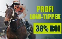 Befigyelt egy 19-es odds - továbbra is varázsol a lovis tipster
