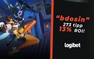 Ingyenes tippel lehetett 65 egységet nyerni a Logibeten!