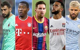 Messi, Ramos, Agüero - sztárok, akiknek nyáron lejár a szerződésük