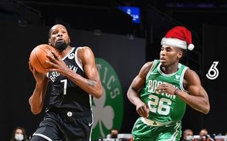 Duplázós tippet néztünk ki a Nets-Celtics karácsonyi meccsre