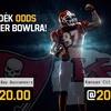 Tuti 20-szoros pénzt nyersz, ha eltalálod a Super Bowl győztesét!