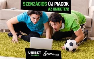 Alig hiszünk a szemünknek! Szenzációs új piacokkal bővült az Unibet!