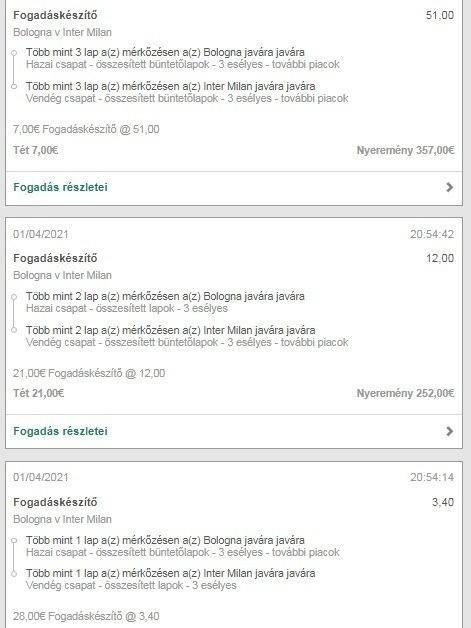 Ezt a szelvényt cikkünk elkészülte után osztotta meg vasero - íme, így lehet egy meccsel is több száz eurót kaszálni!