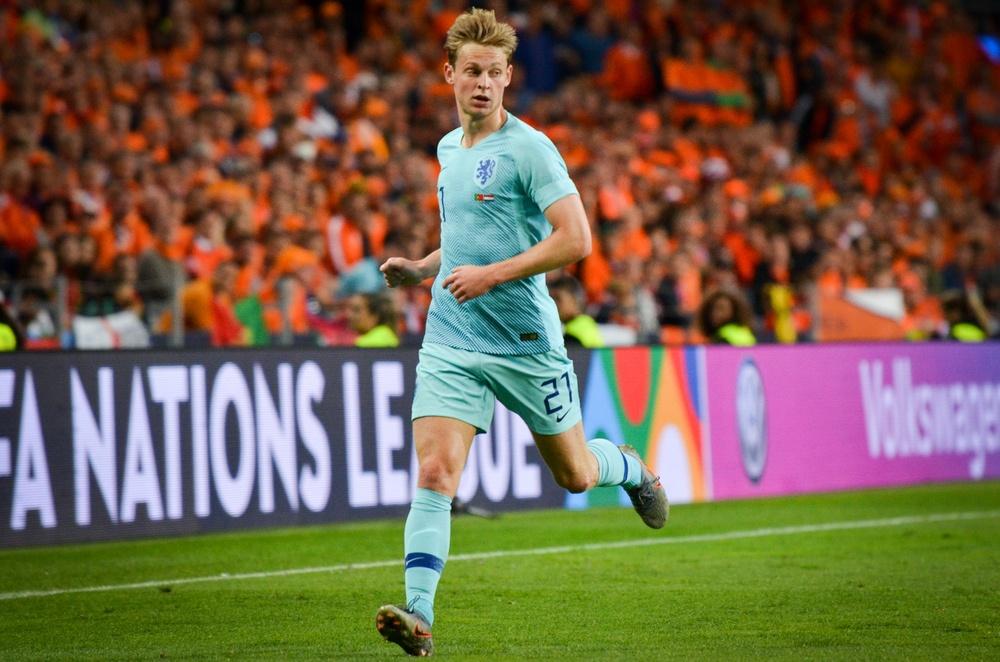 Frankie De Jong a holland válogatott talán legnagyobb ásza lehet az Eb-n // depositphotos.com