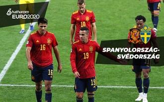 Nem a favoritra fogadunk a spanyol-svéden