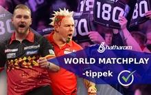 13-as oddsot is megrizikózunk a Van den Bergh - Wright döntőn!