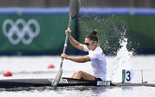 Lucz Dóra futamgyőzelemmel jutott az elődöntőbe. - Fotó: MTI