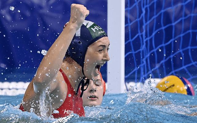 Spanyolország ellen elődöntőzik női vízilabda-válogatottunk. - Fotó: MTI