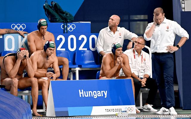 A bronzért csatázik a magyar pólóválogatott. - Fotó: MTI