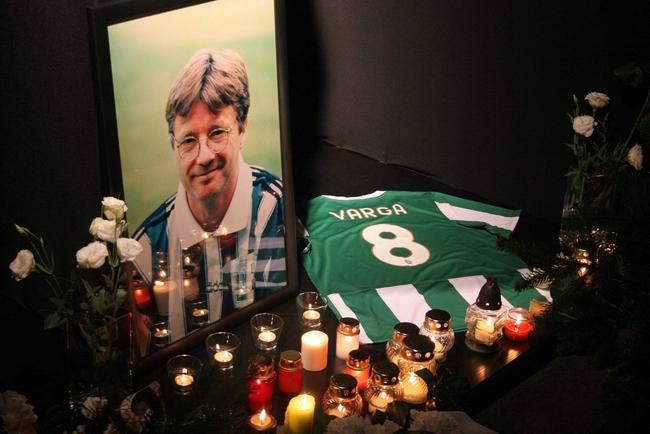 Varga Zoltán, korábbi válogatott labdarúgó, a Ferencváros legendás játékosa