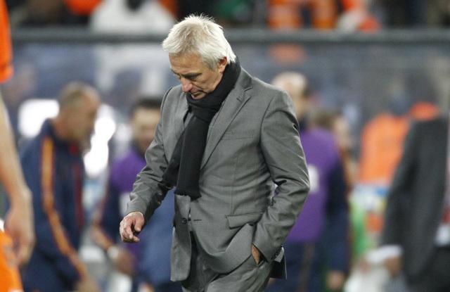 Bert van Maarwijk, a holland labdarúgó-válogatott szövetségi kapitánya