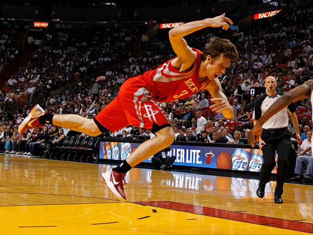 Miami Heat-Houston Rockets Goran Dragic