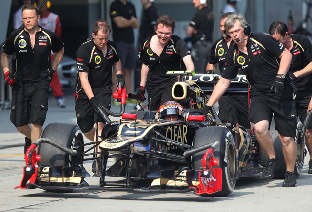 A Lotus gyors volt Mugellóban, más kérdés, hogy ez mennyit jelent majd Barcelonában - Fotó: AFP