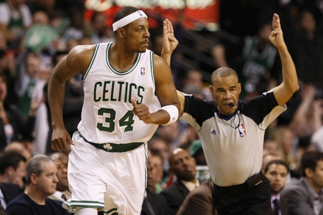 Paul Pierce, a Boston Celtics kosárlabdázója