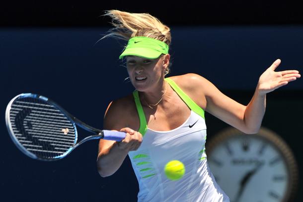 Sarapova magabiztos meneteléssel jutott el a legjobb négyig - Fotó:australianopen.com