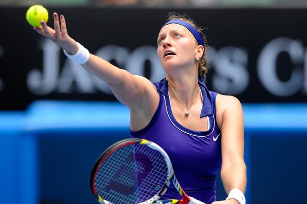 Petra Kvitová először jutott elődöntőbe Melborune-ben - Fotó: australianopen.com