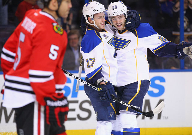 A Blues 3-0-ra győzte le a Blackhawks-t