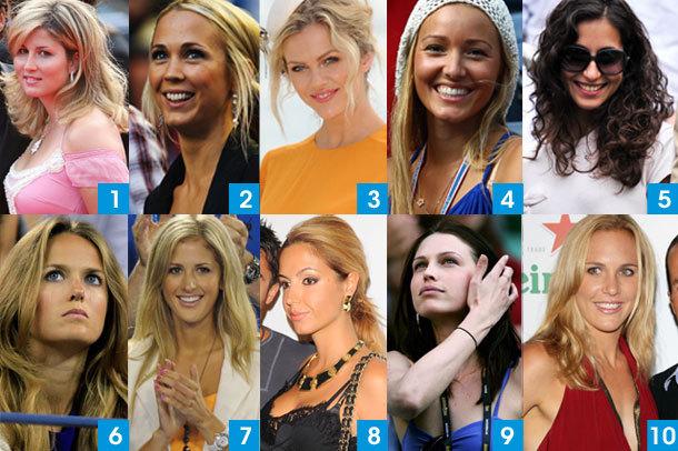 Ilyen csajok szurkolnak a világ legjobb teniszezőinek - Montázs: australianopen.com