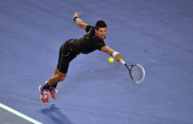 Djokovics először veszített szettet az idei Australian Openen - Fotó: australianopen.com