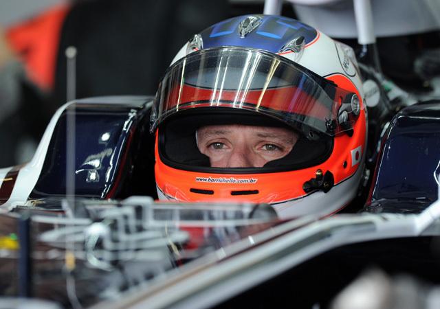 Barrichello is kapott kemény beszólásokat - Fotó: AFP