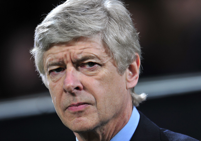 Arséne Wengernek nem sok öröm jut az Arsenal idei teljesítményét látva - Fotó: AFP
