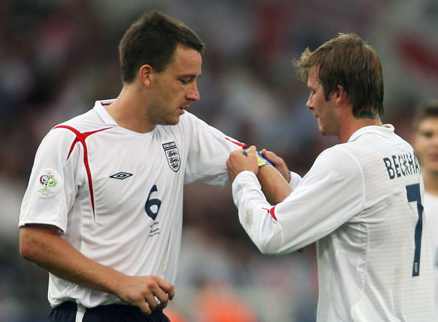 John Terry és David Beckham