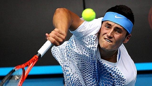 Bernard Tomic az ausztrál szurkolók új kedvence - Fotó:dailytelegraph.com.au
