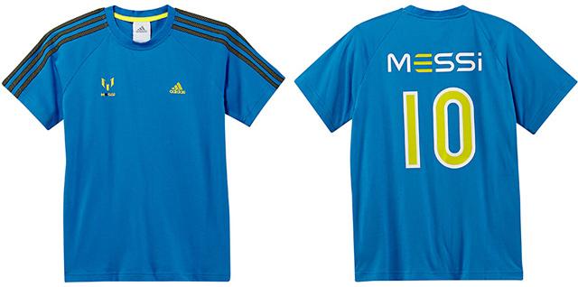 d3ab229ee1 Messi pólók gyerekeknek az Adidastól!