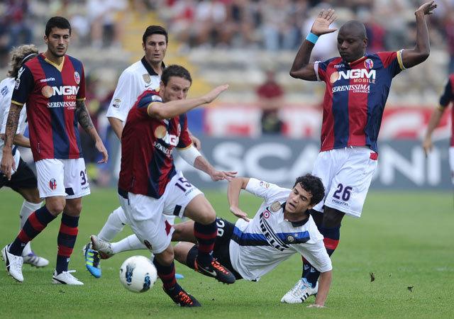 Az Inter ősszel a Bologna ellen kezdte a felzárkózást. Most is megfordul a kék-feketék szerencséje? - Fotó: AFP