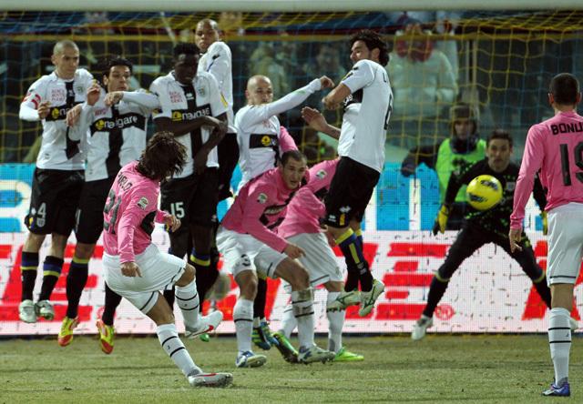 Nem tudott gólt szerezni a Juventus Parmában - Fotó: AFP