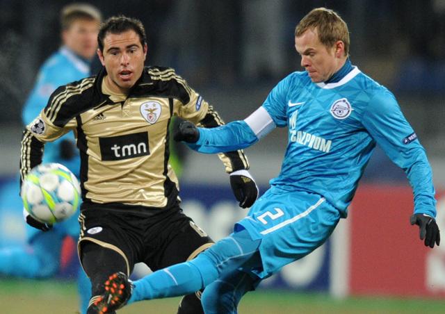 Óriási küzdelemben nyert a Zenit - Fotó: AFP