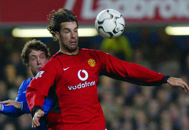 Ruud van Nistelrooy a Manchester Unitedben