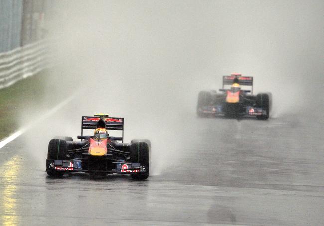 Alguersuari itt még Toro Rossos pilótaként - forrás: AFP