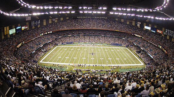 A New Orleans Saints Stadionja